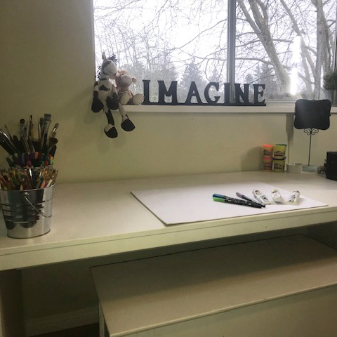 therapy room drawing area